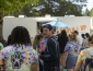 Students standing in line to order from Order Up food truck